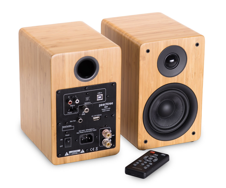 Peachtree Audio M24 Powered Speakers