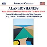 Hovhaness:Wind Music [Jason Talbot; Maggie Whiteman; Taylor Edwards; Adrienne Shields; Mark Goodenberger] [Naxos: 8559837]