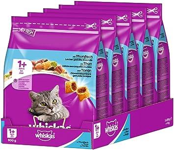 whiskas Gato Forro trockenfutter Adult para Gatos: Amazon.es: Productos para mascotas