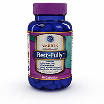 Amazon.com: amrion nutracéuticos rest-fully Natural Sleep ...