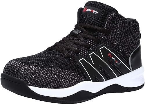 Amazon.com: LARNMERN Zapatos de seguridad para hombre, LM ...