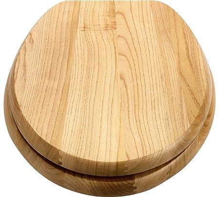 Fantastic Luxury Solid Wood Slow Close Toilet Seat Light Oak Amazon Forskolin Free Trial Chair Design Images Forskolin Free Trialorg