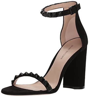 a25c7be9d9bba Amazon.com: Stuart Weitzman Women's Rosemari Heeled Sandal: Shoes