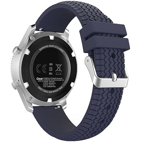 MoKo Samsung Gear S3 Frontier / Galaxy Watch 46mm / Classic Correa ...