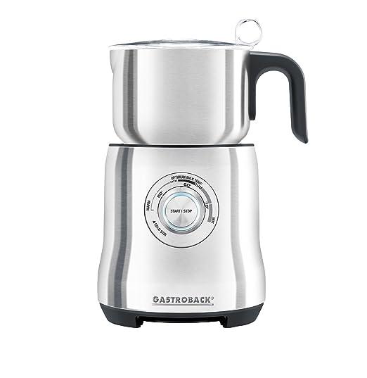 Gastroback 42360 Acero inoxidable espumador para leche - Espumador de leche (500 W, 140 mm, 154 mm, 265 mm, 1,65 kg): Amazon.es: Hogar