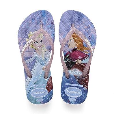 d2efd3a4f Havaianas Unisex Adults  Kids Slim Frozen Flip Flops  Amazon.co.uk ...