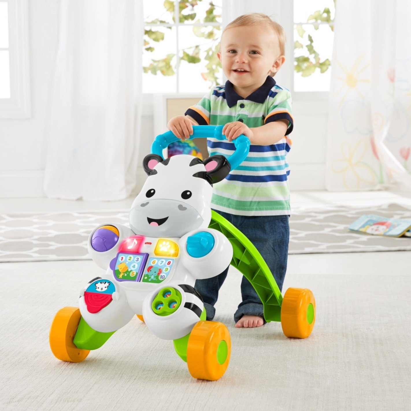 Fisher-Price Learn with Me Zebra Walker by Fisher-Price (Image #8)