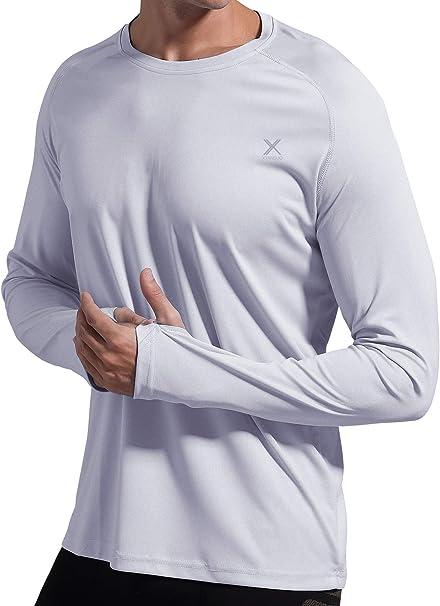 Mens UPF 50 UV Shirt Long Sleeve