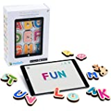 Marbotic - Smart Letters for iPad & Samsung Tablets - Ages 3-5 - Interactive Wooden Letters Set - Hands-on Educational Learni