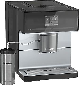 Miele CM 7300 Independiente Totalmente automática Máquina espresso 2.2L Negro - Cafetera (Independiente, Máquina espresso, 2,2 L, Molinillo integrado, 1500 W, Negro): Amazon.es: Hogar