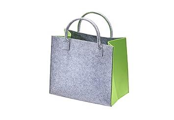 2356ac2855330 Kobolo Filztasche Shopper Einkaufstasche Filz Freizeittasche Shopper ...