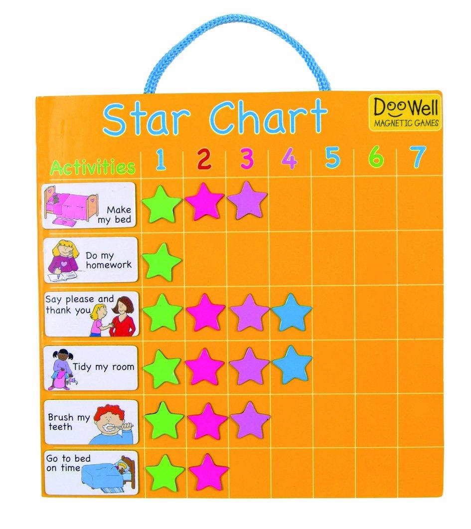 Doowell Activity Charts Magnetische Sternkarte / Belohnungstabelle T-2338