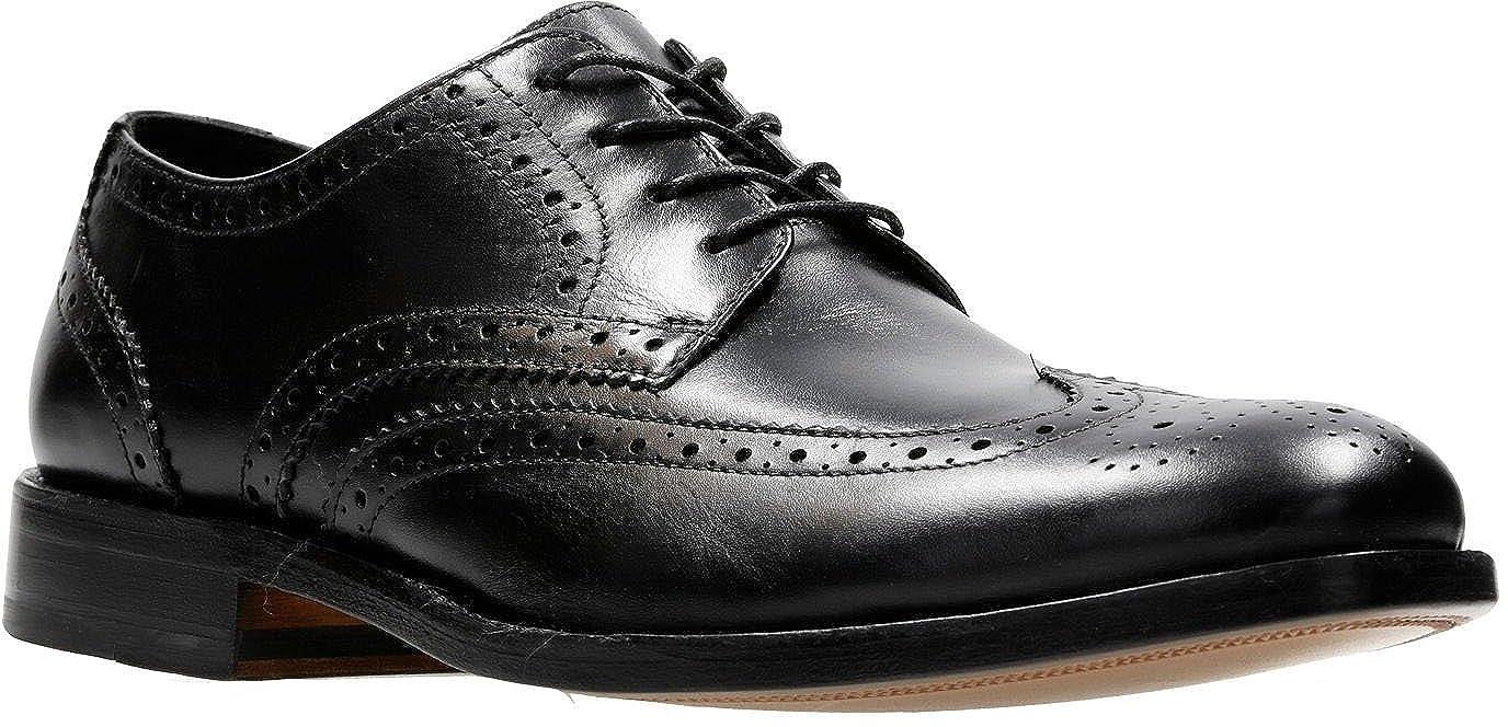 trama trama Soledad  Buy Clarks Men's James Wing Shoe Black Leather 11 D(M) US at Amazon.in