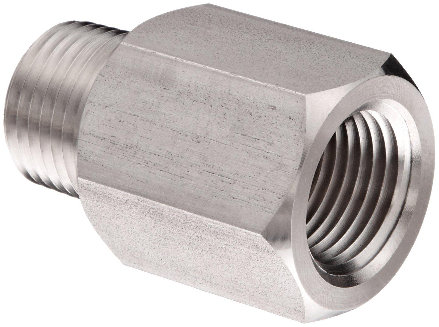 15000 psi Pressure Range NOSHOK 5125 316 Stainless Steel Sintered Pressure Snubber with Grade C Disc 1//4 NPT Male