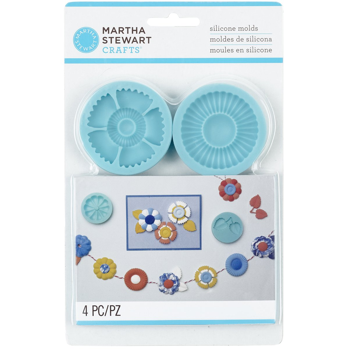 Martha Stewart Crafts Silicone Mold, Graceful Bloom product image