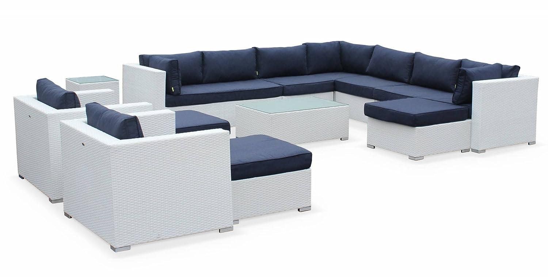 Alice\'s Garden - Mueble de jardin, conjunto sofa de exterior, ratan ...