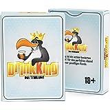 DrinkKing - Trinkspiel - Partyspiel für Erwachsene - Super als Geburtsgeschenk für Männer - Wichtelgeschenk unter 10 Euro - Trinkspiele Partyspiele ab 18 - Abschiedsgeschenk Kollegen - Männergeschenke