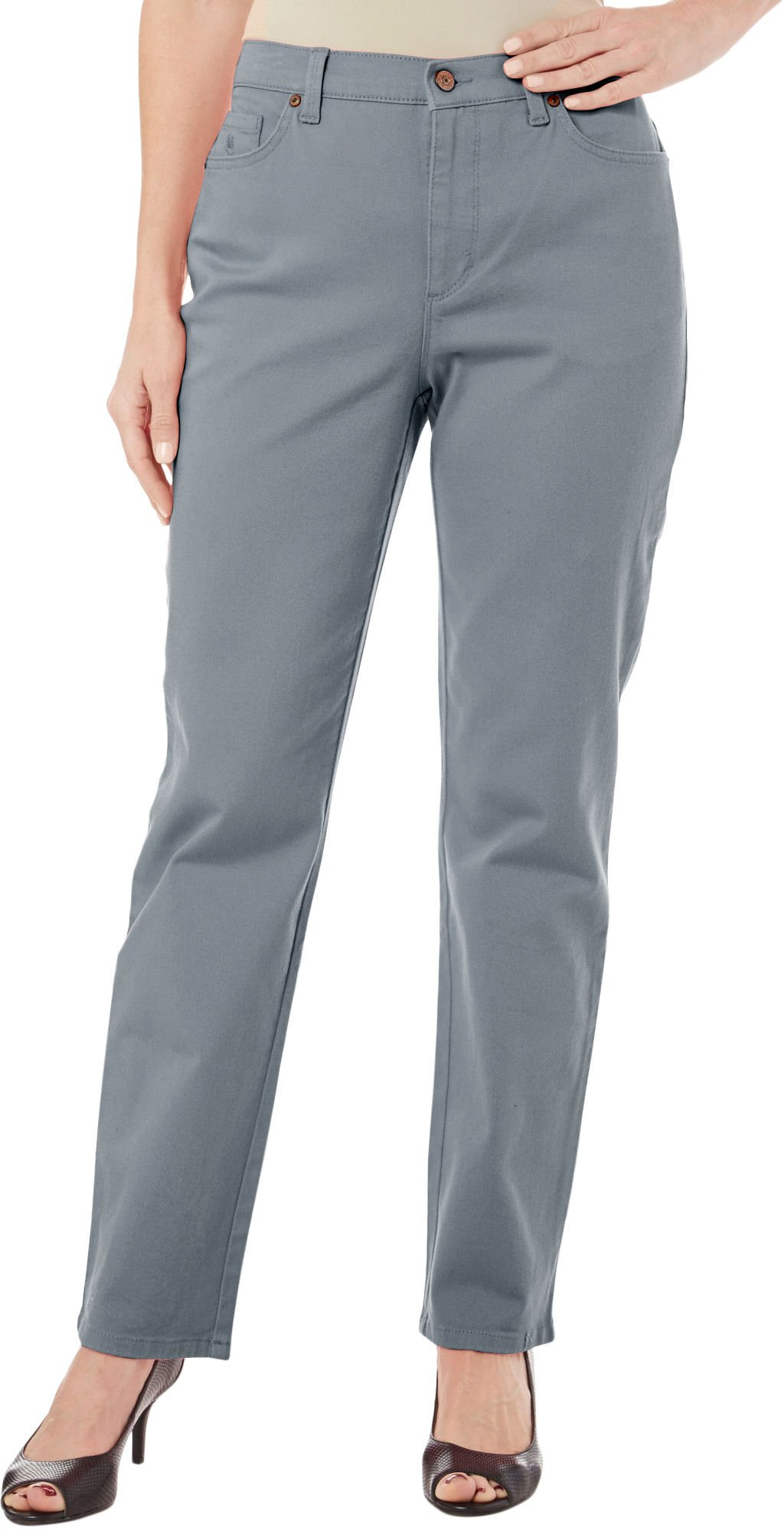 Gloria Vanderbilt Women/'s Amanda Heritage Fit Tapered Leg Classic Rise Jeans