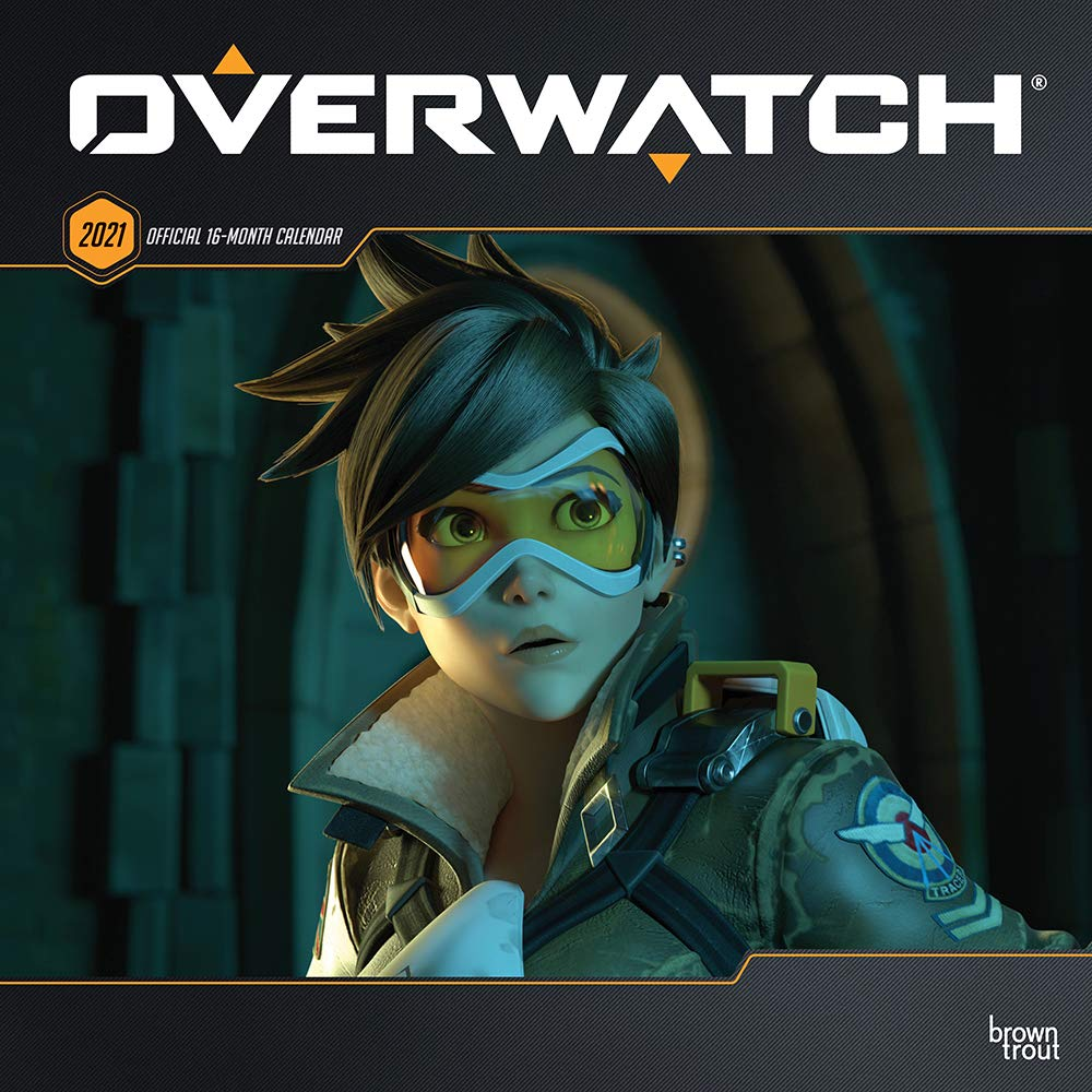 Amazon.com: Overwatch 2021 12 x 12 Inch Monthly Square Wall