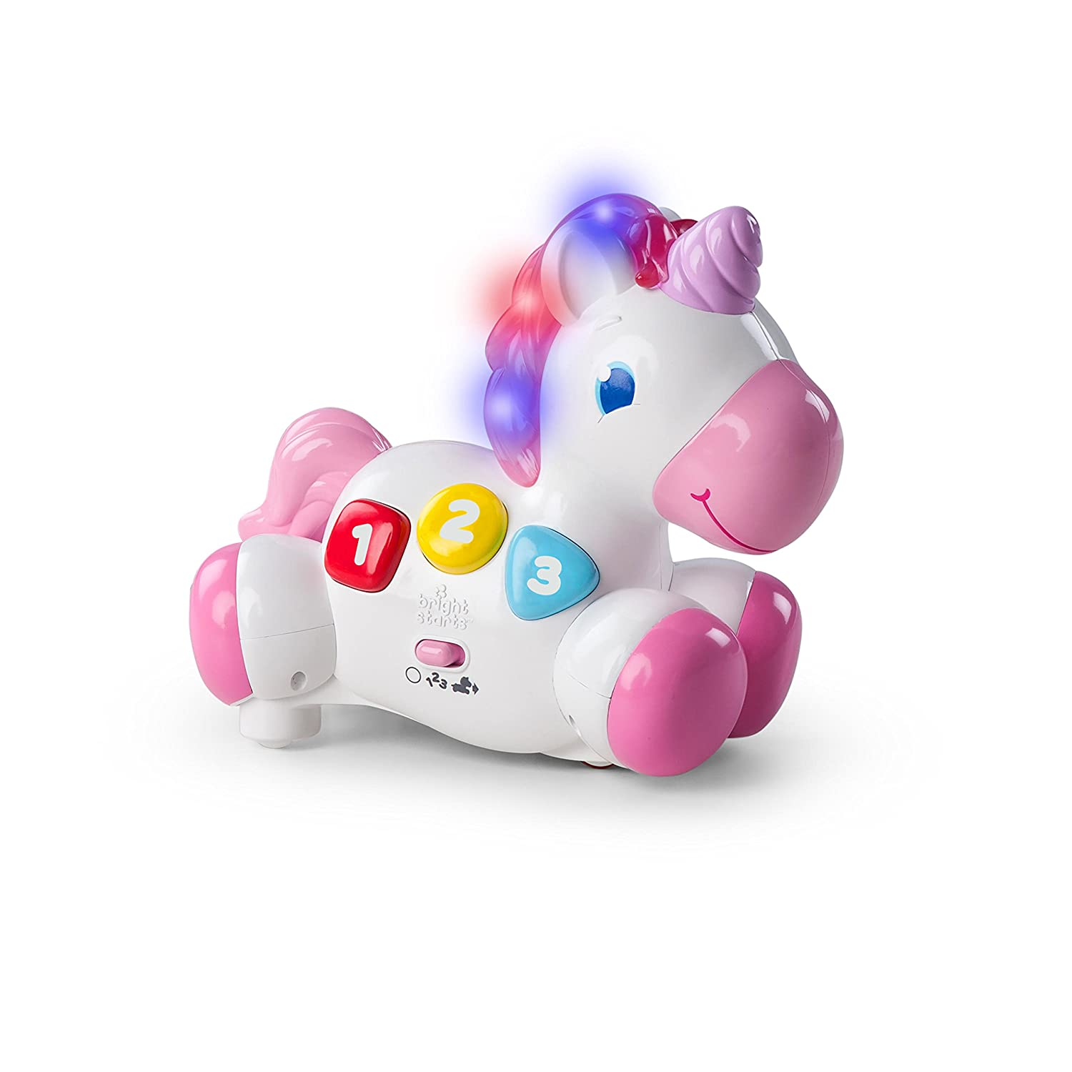 Bright Starts Glow Unicorn Baby Toy KidsII 10307