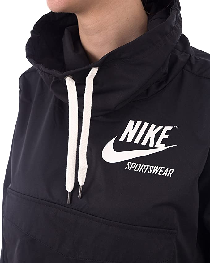on sale 69d68 3f0af Nike Womens Archive Fall Lightweight Pullover Coat at Amazon Women s  Clothing store