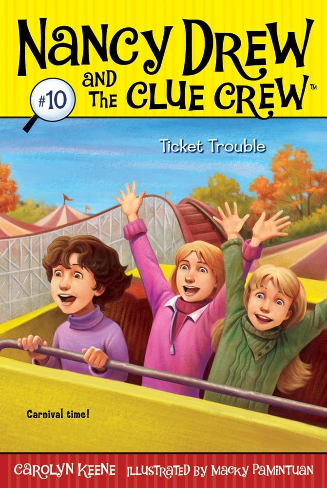 Download Ticket Trouble (Nancy Drew and the Clue Crew) pdf epub