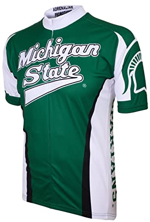 d4aac4354 Adrenaline Promotions Michigan State Spartans Cycling Jersey (XXX-Large)