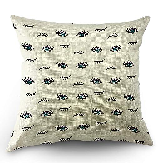 Alexander - Funda de almohada para pestañas, color azul con ...