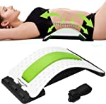Back Stretcher - Lower and Upper Back Pain Relief, Lumbar Stretching