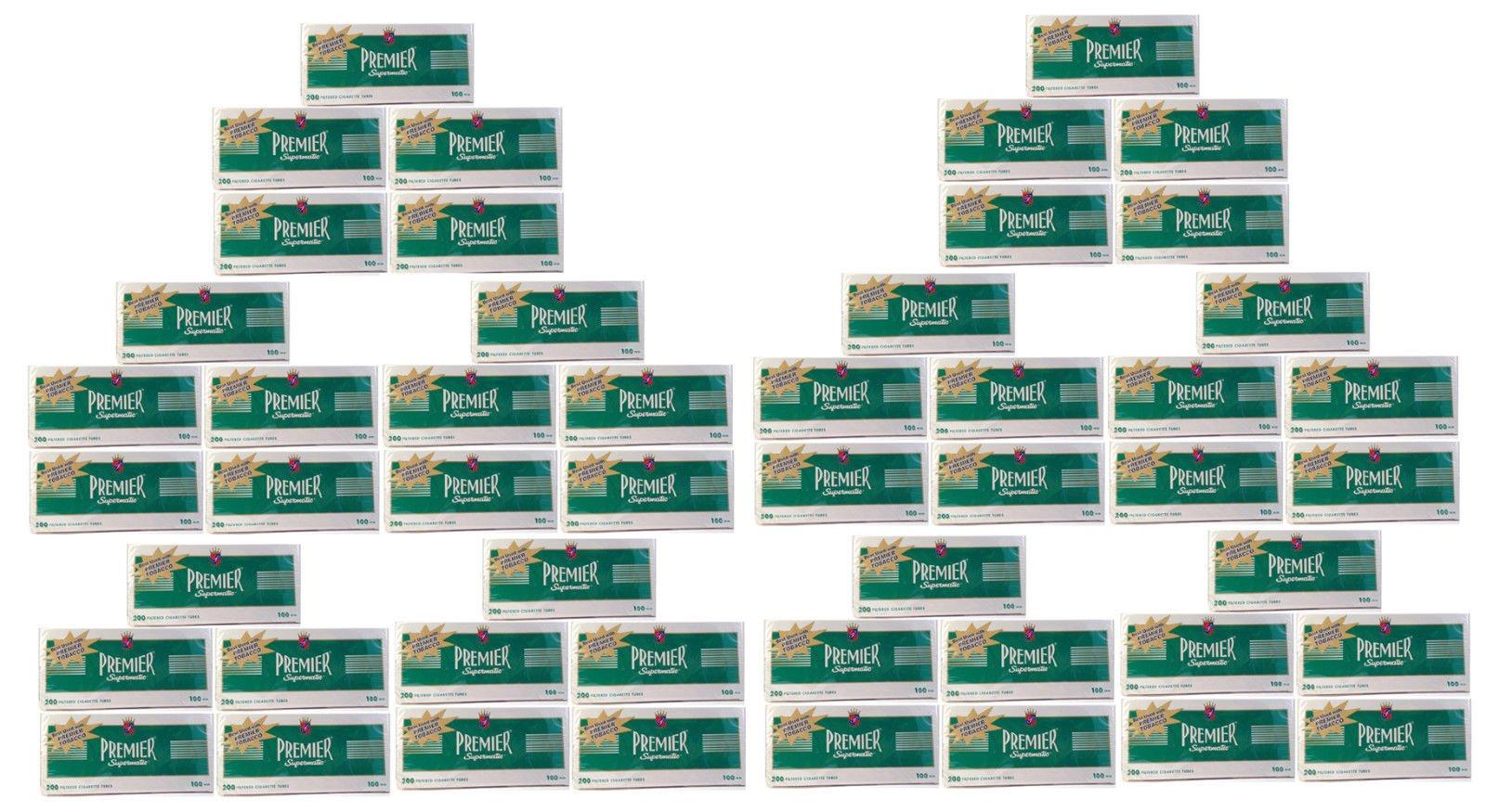 Premier Supermatic 100's Menthol Cigarette Filter Tubes (50)