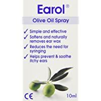 Earol Ear Wax Remover Olive Oil Spray 10 ml