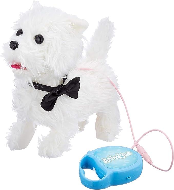 Tobar 17971 Gehender Und Bellender Welpe West Highland White Terrier Hund Mit Funktion Fernbedienung Spielzeug