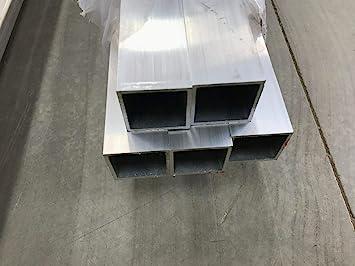 """4/"""" Aluminum Square Tube 6061 T6 .125/"""" wall x 78/"""""""