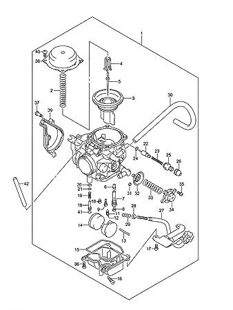 Honda 450 Carburetor Diagram For