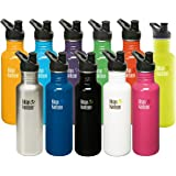 Klean Kanteen Classic Stainless Steel Bottle with Sport Cap, 27 Oz ( 800 ml)