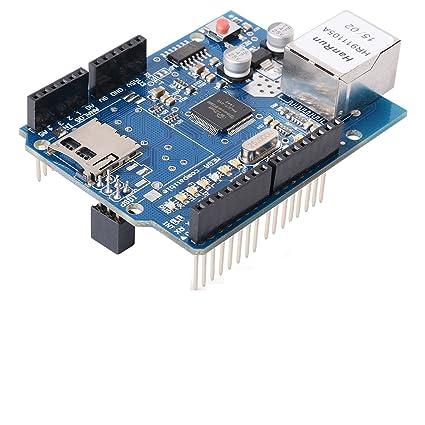 W5100 ethernet shield con ranura para tarjetas Micro-SD para ...