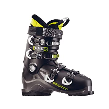 236ddf7c22 SALOMON X ACCESS 80 Ski Schuh 2018 black/anthracite/acid green, 31.5 ...