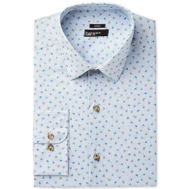 popular stores temperament shoes greatvarieties Bar III Men's Slim-Fit Stretch Butterfly Print Dress Shirt
