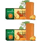 Biotique Orange Peel Revitalizing Body Soap, 150 gm (Pack of 2)