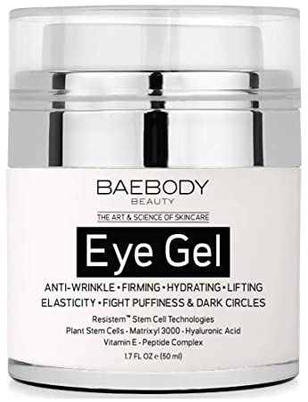 Baebody Eye Gel for Dark Circles, Puffiness, Wrinkles a...