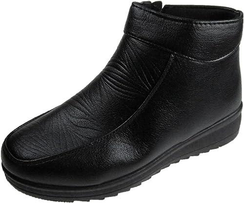 MC Ladies Soft Faux Leather Ankle Boots