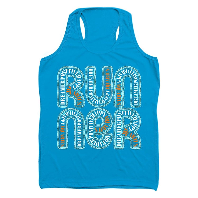 Gone For a Run Women's Performance Singlet Aquarius Zodiac Runner