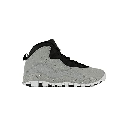 NIKE Air Jordan 10 Cement Mens Basketball-Shoes 310805-062_8 - Smoke Grey/