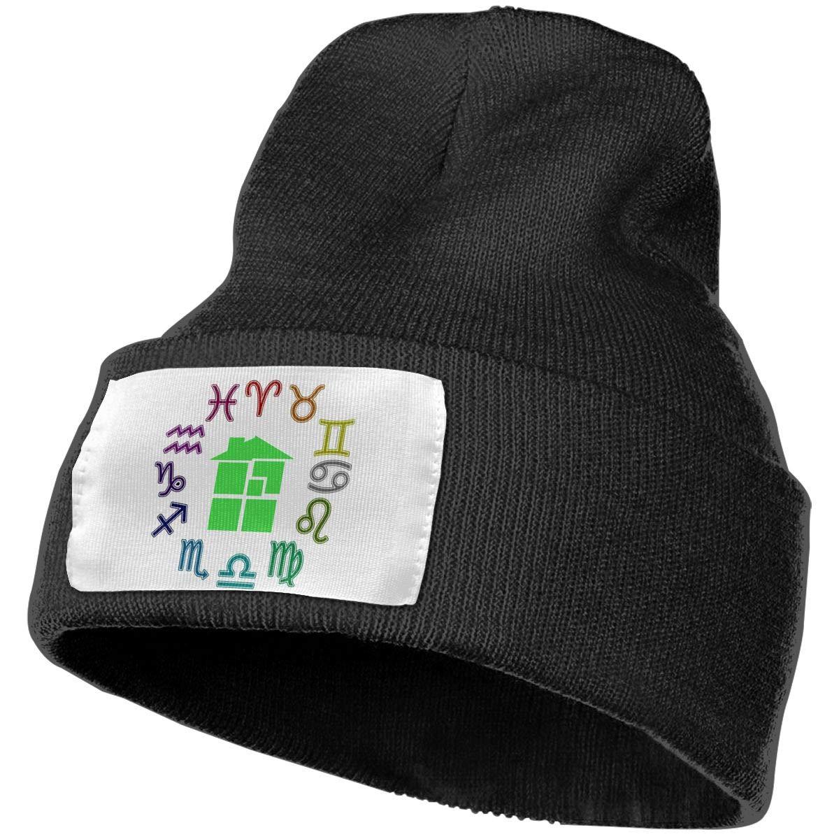 Unisex Winter Hats Homestuck Symbol Skull Caps Knit Hat Cap Beanie Cap for Men//Womens