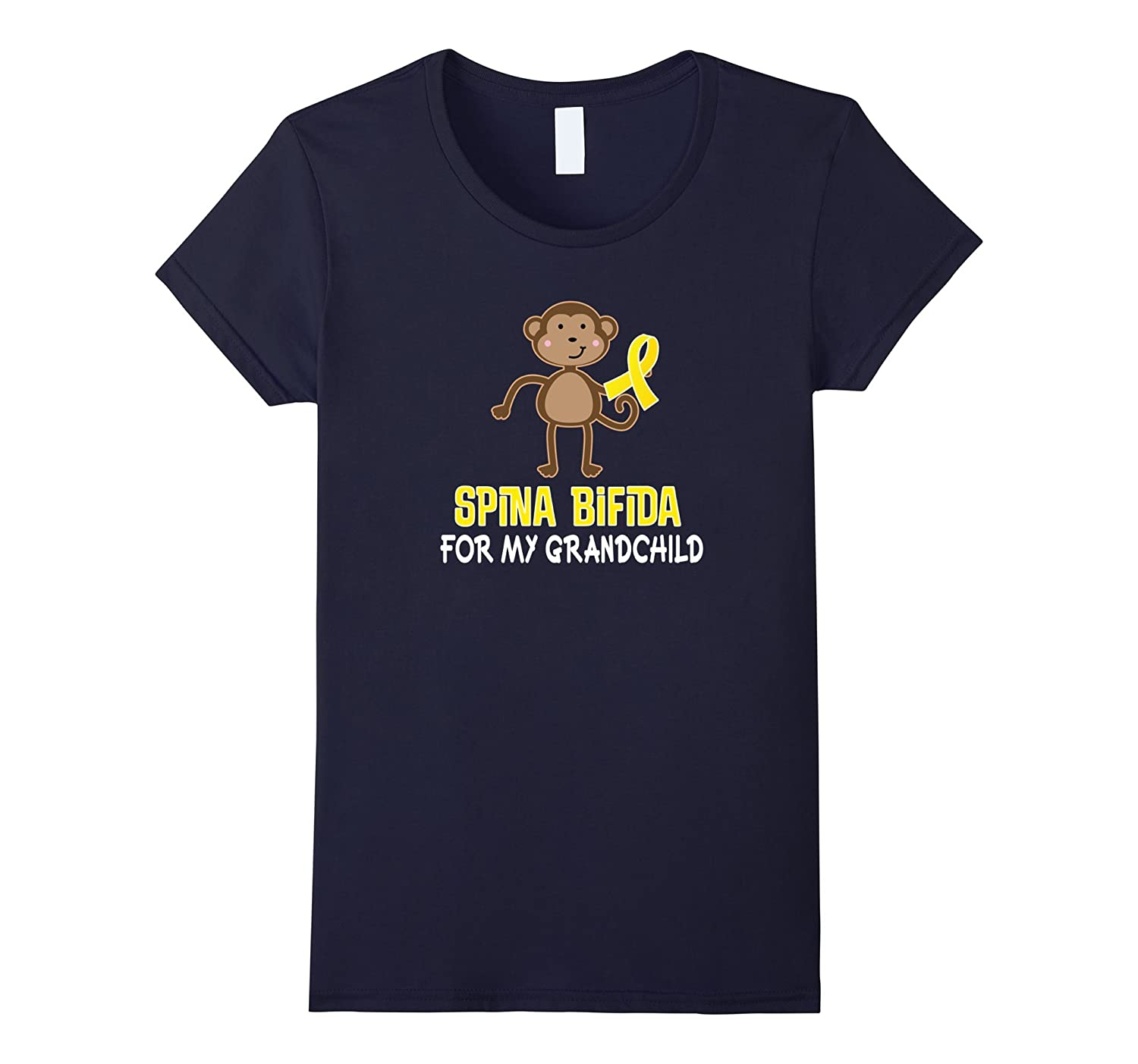 Spina Bifida Awareness T-shirt For Grandchild Tee-Teeae
