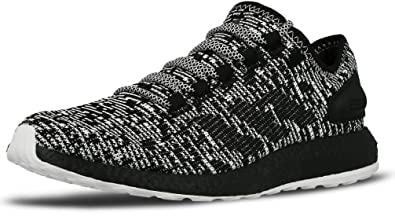 adidas pure boost black and white