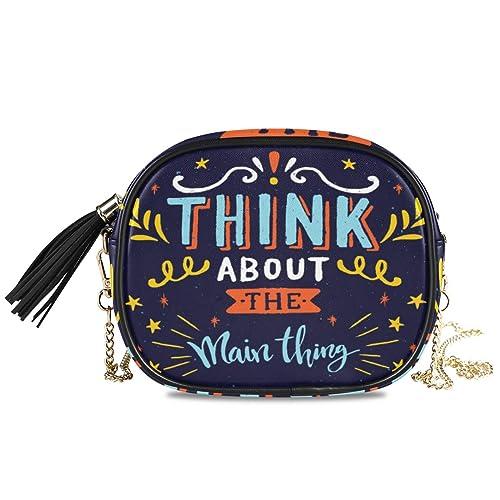 DXG1 Blue Thing About The Main - Mini bolso bandolera para mujer ...