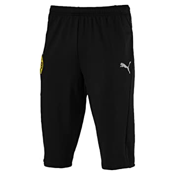 0a34bba807f0 Puma Men s BVB 3 4 Training Pants Without Pockets Trousers  Amazon ...