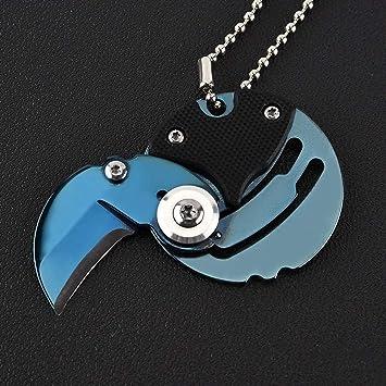 Hamilbulun Mini Cuchillo Plegable Cuchillo Cortador de ...