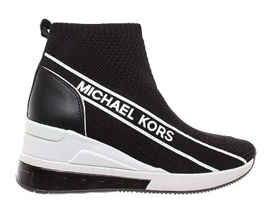 fd469dddd Michael Kors Damen Schuhe Sneaker Skyler Bootie Extreme Fabric Schwarz Neu
